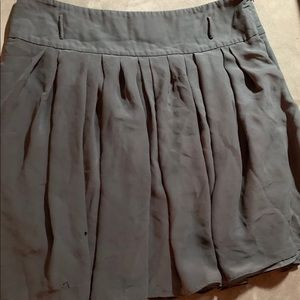 Vince Camuto Forest Green Skirt Used w/ damages 14